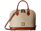 Dooney & Bourke Dooney & Bourke Pebble Leather New Colors Zip Zip Satchel