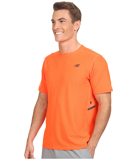 new balance short sleeve run top
