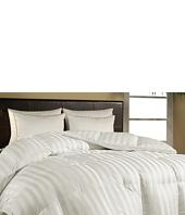 Royal Luxe - Damask Stripe Duraloft Down Alternative Comforter-Full/Queen