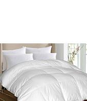 Royal Luxe - Damask Stripe White Goose Down/White Goose Feather Comforter-King