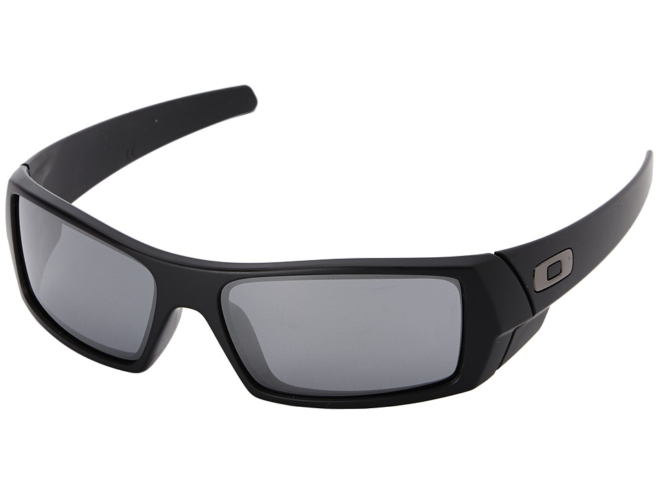 Oakley - GasCan (Black Iridium w/ Matte Black) Sport Sunglasses