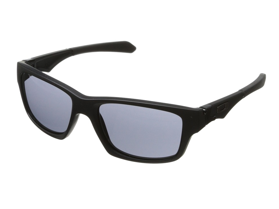 Oakley - Jupiter Squared (Grey w/ Matte Black) Athletic Performance Sport Sunglasses