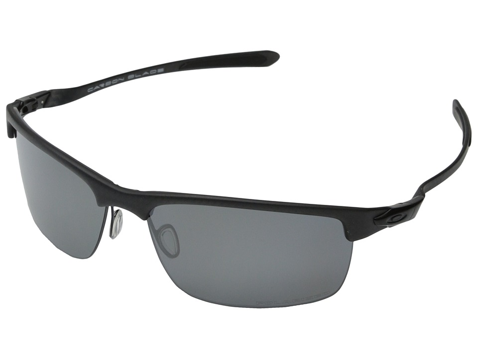 Oakley Carbon Blade Black Iridium Polarized w/ Carbon Fiber Fashion Sunglasses