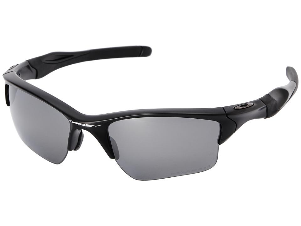 Oakley Half Jacket 2.0 (Black Iridium Polarized w/ Matte ...