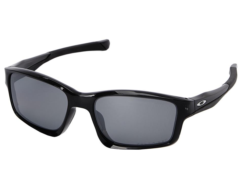 Oakley Chainlink Black Iridium Polarized w/ Black Ink Fashion Sunglasses