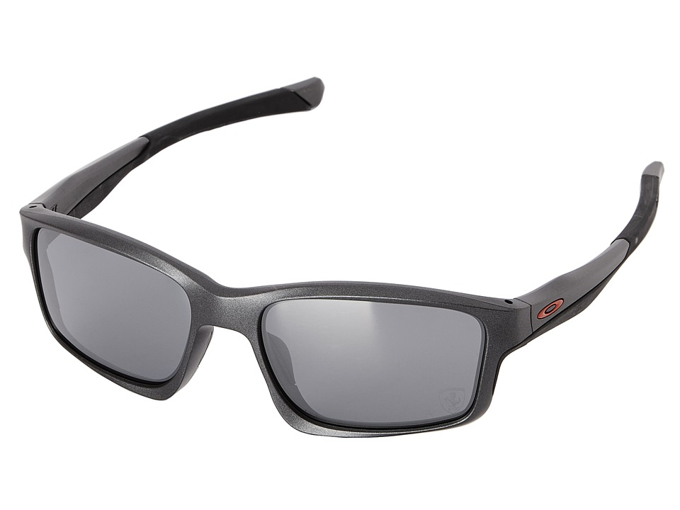 Oakley Chainlink Matte Steel W/Black Iridium Fashion Sunglasses