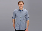 Elie Tahari - Small Check Steve Shirt J5059504 (Light Grey/Blue)
