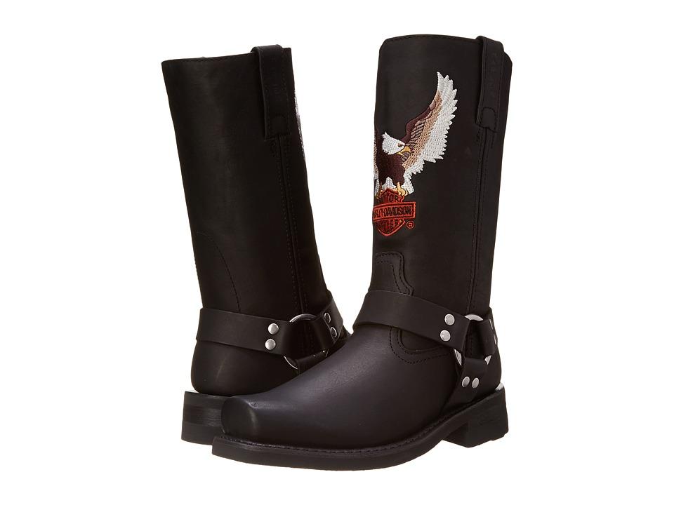 Harley Davidson Darren (Black) Men's Pull-on Boots