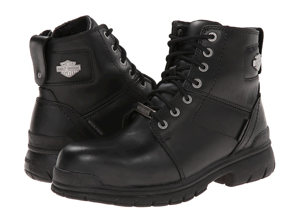 Harley-Davidson - Gage Composite Toe (Black) Mens Lace-up Boots