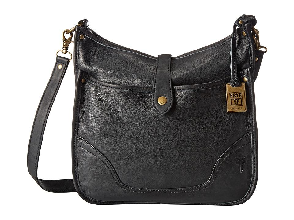 Frye - Campus Crossbody (Black Dakota) Cross Body Handbags