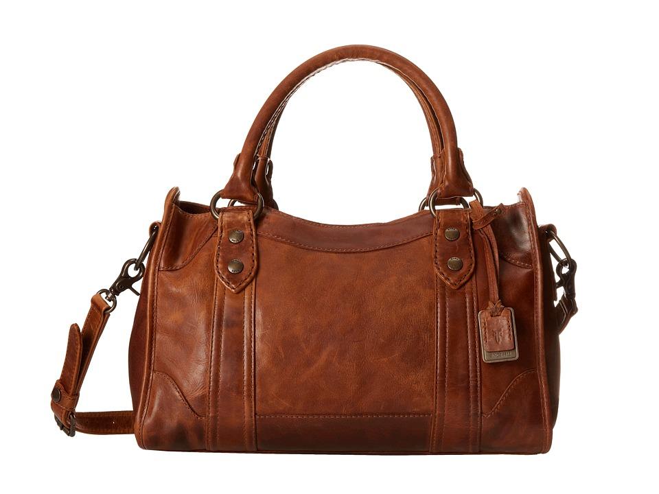 Frye - Melissa Satchel (Cognac Antique Pull Up) Satchel Handbags