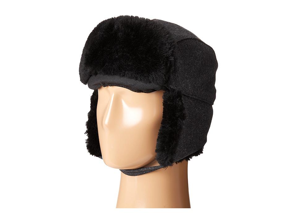 Filson - Trapper Hat (Charcoal/Black) Caps