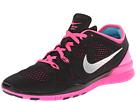Nike Free 5.0 TR Fit 5 (Black/Pink Pow/Fireberry/Metallic Silver)