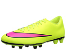 Nike Mercurial Vortex II FG (Volt/Black/Hyper Pink)
