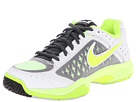 Nike Air Cage Court (White/Classic Charcoal/Grey Mist/Volt)