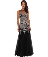 Badgley Mischka - Caviar Sequin Gown