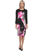 Just Cavalli - Long Sleeve Printed Dress