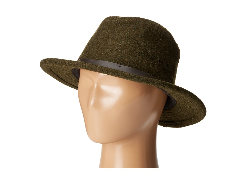 Filson - Wool Packer Hat (Forest Green) Caps