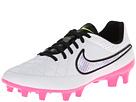 Nike Tiempo Genio FG (White/Pink Pow/Volt/Chrome)