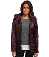 Ellen Tracy  Hooded Mini Trench Packable Down  image