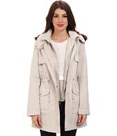 Ellen Tracy  Anorak Park w/ Faux Fur Detachable Hood  image