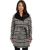 Ellen Tracy - Belted Wrap Walker Coat