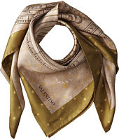 Valentino - Astral Chart Double Sided Twill Scarf