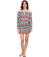 La Blanca - Essence Chevron Tunic Cover-Up