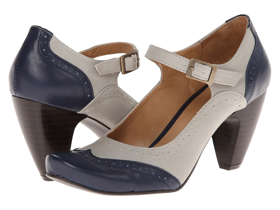 Gabriella Rocha Indy (Grey Navy) High Heels