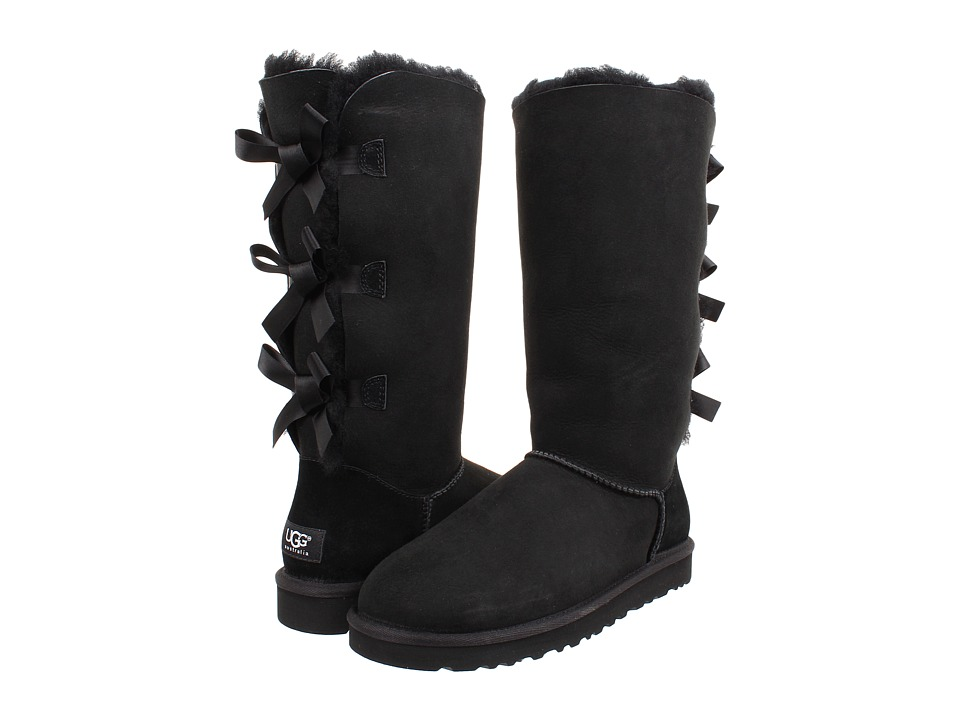 UGG - Bailey Bow Tall (Black) Women