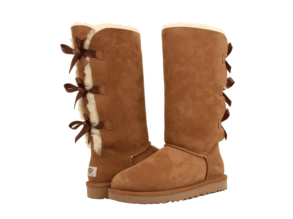 UGG - Bailey Bow Tall (Chestnut) Women