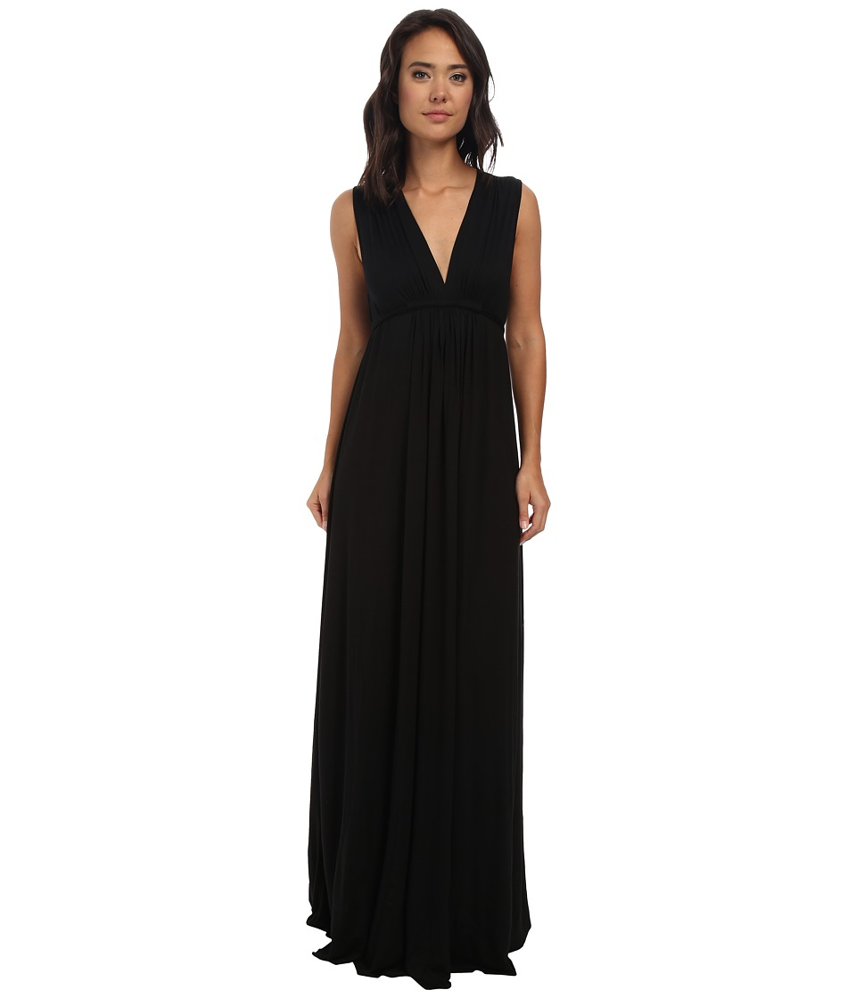 Rachel Pally Long Sleeveless Caftan (Black 2) Women's Dress