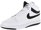Nike Court Force Hi ND (White/White/Black)
