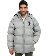 U.S. POLO ASSN. - Signature Long Bubble Coat w/ Large Pony & Polar Fleece Lining