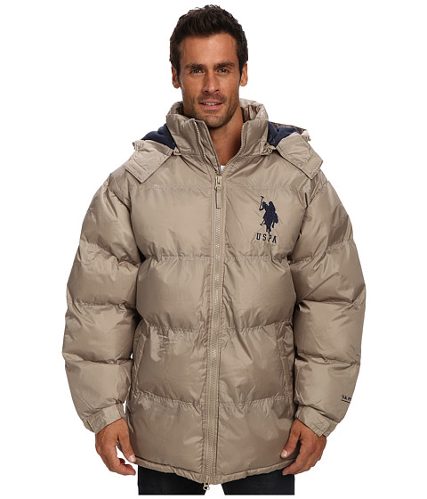 U.S. Polo Assn. Men's Classic Bubble Jacket with Polar Fleece Lining and Mini Logo, Classic Navy, X-Large Established in , the U.S. Polo Assn. is the governing body for the sport of polo .