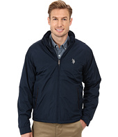 U.S. POLO ASSN. - Fleece Lined PU Piped Jacket