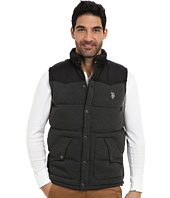U.S. POLO ASSN. - Fleece Western Yoke Vest