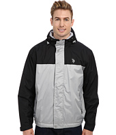 U.S. POLO ASSN. - Color Block Coat w/ Fleece Lining