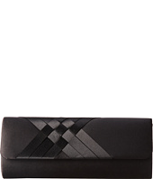 Jessica McClintock - Criss Cross Flap Clutch