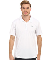 U.S. POLO ASSN. - Cage Mesh Vented Peformance Polo