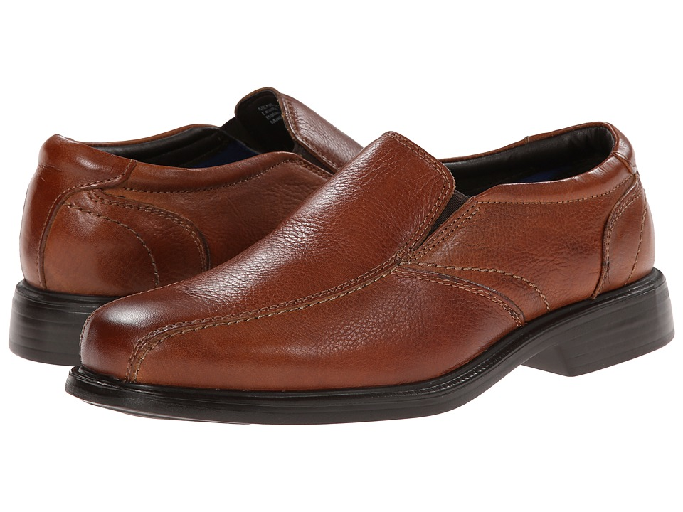 Florsheim Freedom Bike Slip On Cognac Milled Mens Lace up Bicycle Toe Shoes