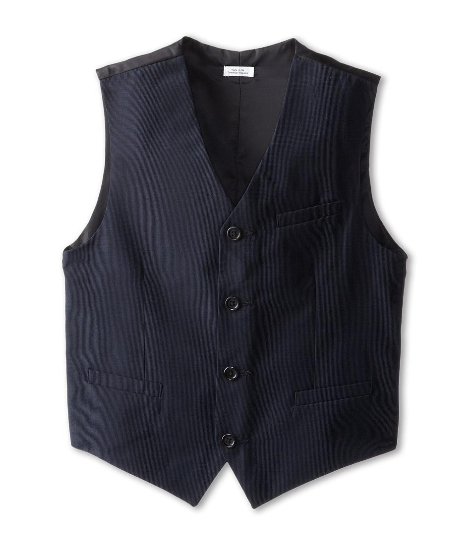 Calvin Klein Kids - CK Pinstripe Vest (Big Kids) (Navy) B...