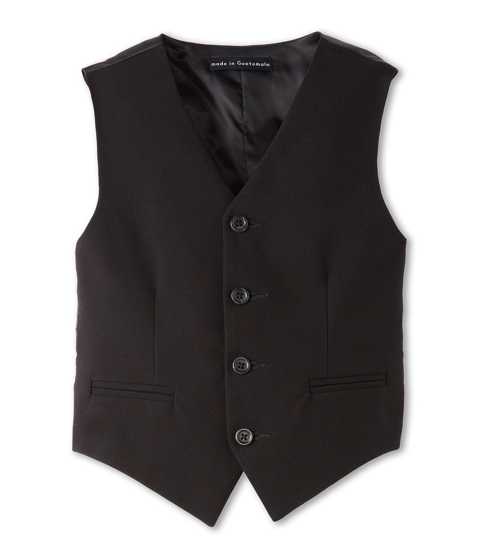 Calvin Klein Kids - Bi-Stretch Vest (Big Kids) (Black) Boys Vest