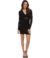 BCBGeneration - Lace Ruffle Bodycon Dress YZC64C35