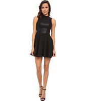 BCBGeneration - Mock Neck Dress w/ Contrast Back XGN65C85