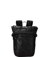 Steve Madden - Black Camo Nylon Foldover Commuter Backpack