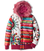 Desigual Kids - Faux Fur Trim Reversible Jacket (Little Kids/Big Kids)