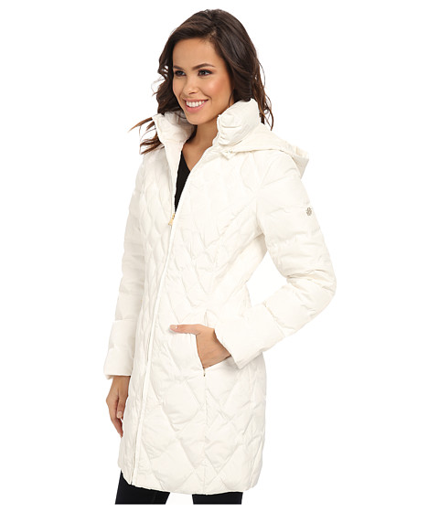 Search Jessica Simpson Down Coat With Diamond Quilting