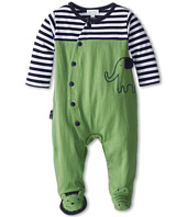 le top - Zoo Crew Coverall Lion & Gator Toes - Elephant (Newborn)