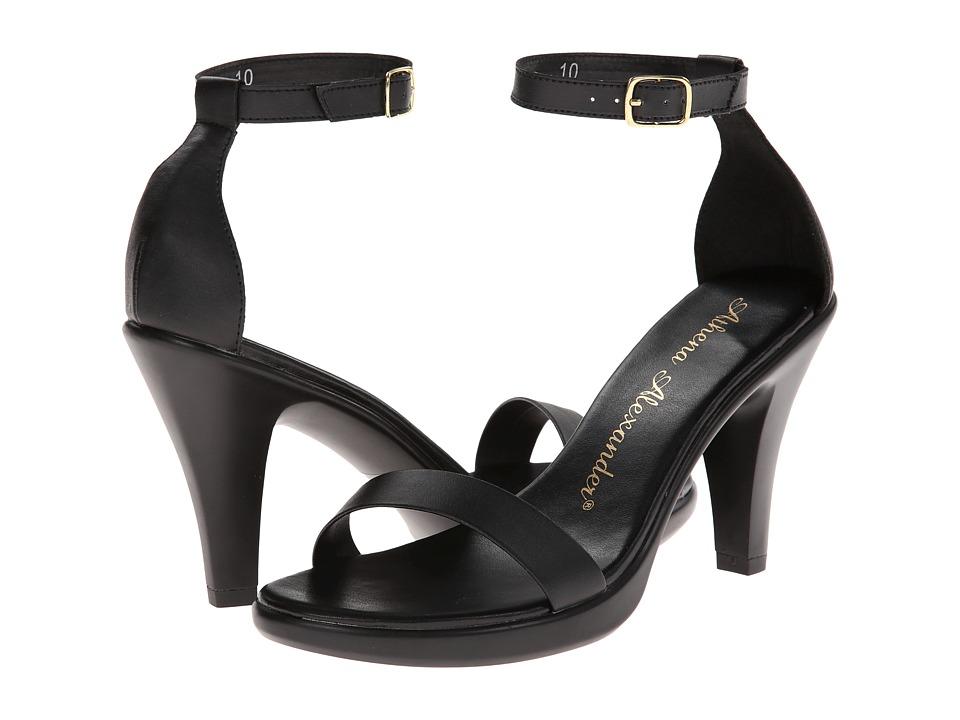 Athena Alexander Hart Black Womens Shoes
